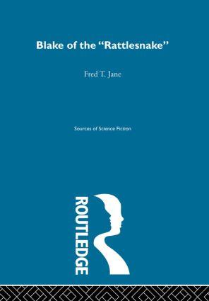 Blake Of Rattlesnake Ssf V5: 1st Edition (Hardback) book cover