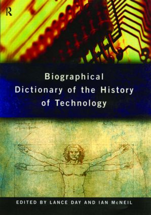 Biographical Dictionary of the History of Technology (e-Book) book cover