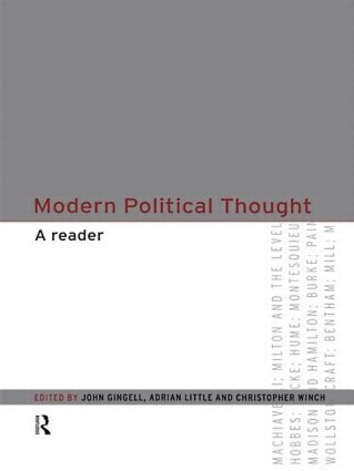 Modern Political Thought: A Reader (Paperback) book cover