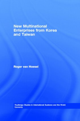 New Multinational Enterprises from Korea and Taiwan (Hardback) book cover