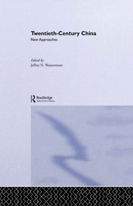 Twentieth-Century China: New Approaches (Paperback) book cover
