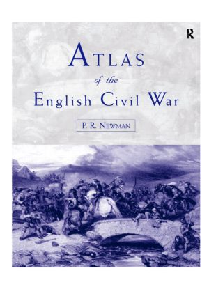 Atlas of the English Civil War: 1st Edition (Paperback) book cover