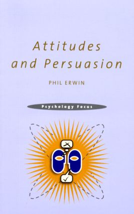 Attitudes and Persuasion (Paperback) book cover