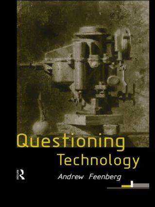 Questioning Technology: 1st Edition (e-Book) book cover