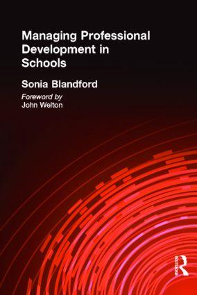 Managing Professional Development in Schools