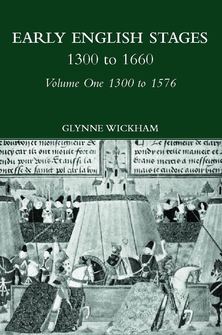 Early English Stages 1300-1576 (Hardback) book cover