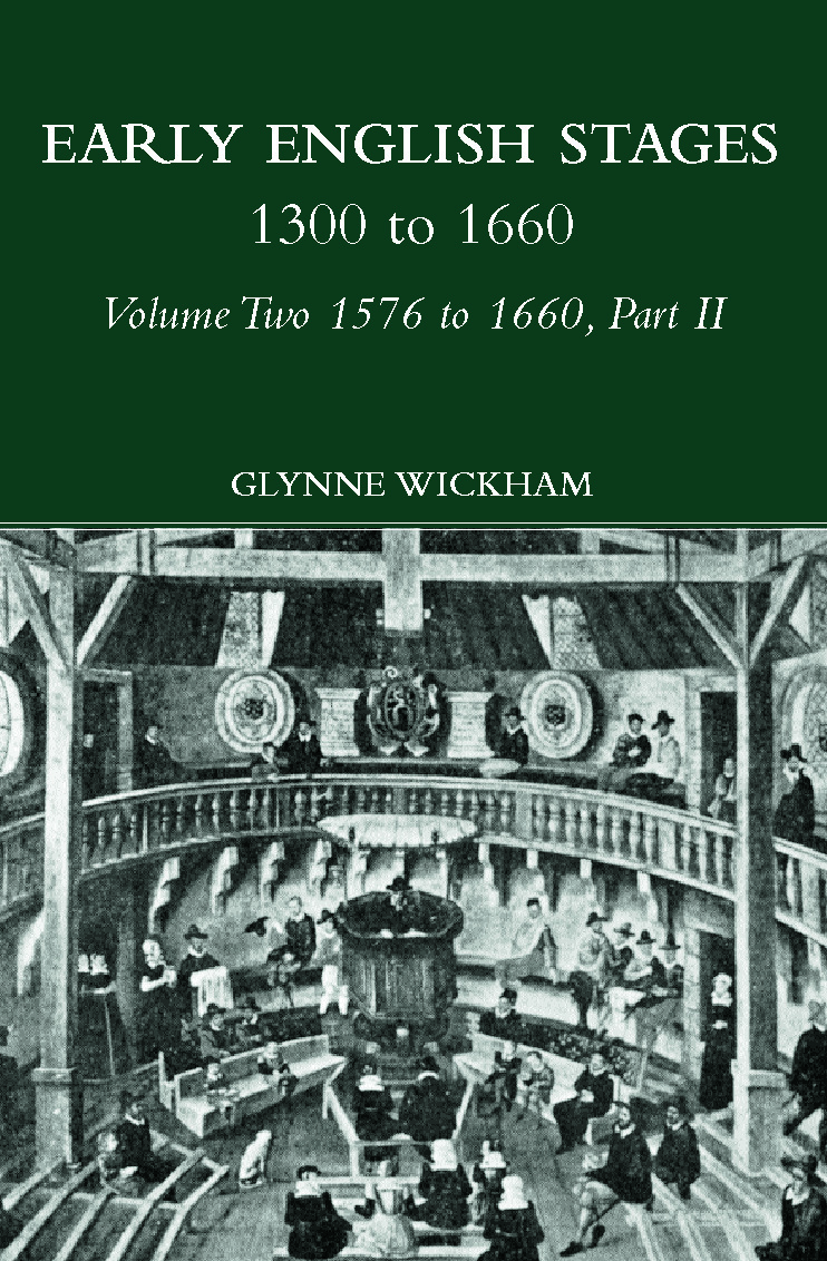 Part II - Early English Stages 1576-1600 (Hardback) book cover