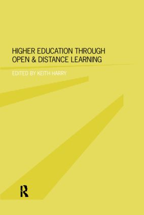 Higher Education Through Open and Distance Learning: 1st Edition (Paperback) book cover