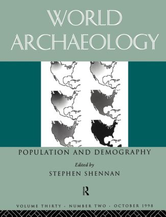 Population and Demography: World archaeology 30:2, 1st Edition (Paperback) book cover