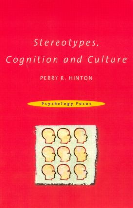 Stereotypes, Cognition and Culture (Paperback) book cover