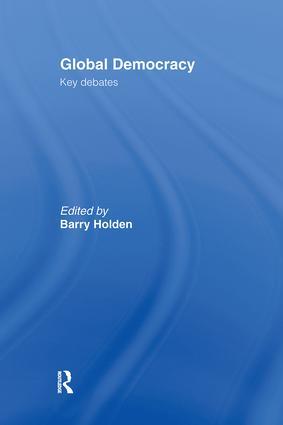 An agenda for democratization: democratization at the international level