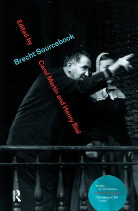 Brecht Sourcebook: 1st Edition (Paperback) book cover