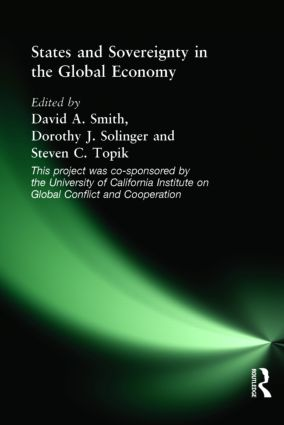 States and Sovereignty in the Global Economy: 1st Edition (e-Book) book cover