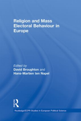 Religion and Mass Electoral Behaviour in Europe: 1st Edition (Hardback) book cover
