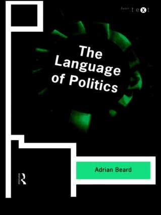 The Language of Politics (Paperback) book cover