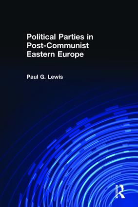 Political Parties in Post-Communist Eastern Europe (Paperback) book cover