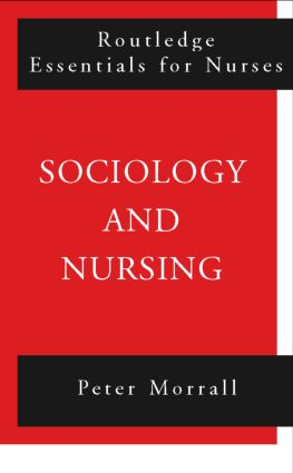 Sociology and Nursing: An Introduction book cover