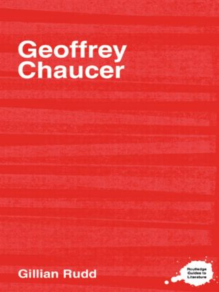 Geoffrey Chaucer: 1st Edition (Paperback) book cover