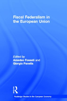 Fiscal Federalism in the European Union book cover