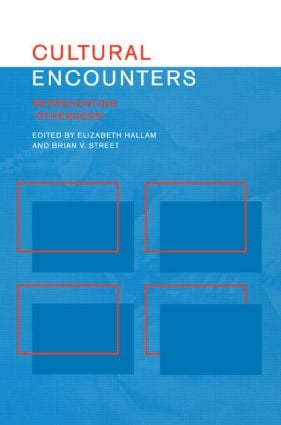 Cultural Encounters: Representing Otherness (Paperback) book cover