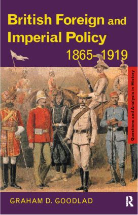 British Foreign and Imperial Policy 1865–1919 (Paperback) book cover