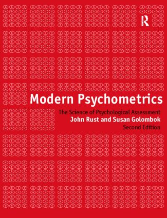 Modern Psychometrics: 2nd Edition (Paperback) book cover