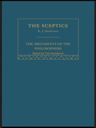 Sceptics-Arg Philosophers (Hardback) book cover