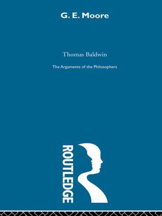 Moore-Arg Philosophers (Hardback) book cover