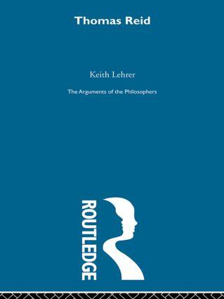 Reid-Arg Philosophers (Hardback) book cover