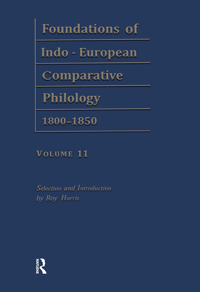 Vergleichende Gram Pts4-6 V11: 1st Edition (Hardback) book cover