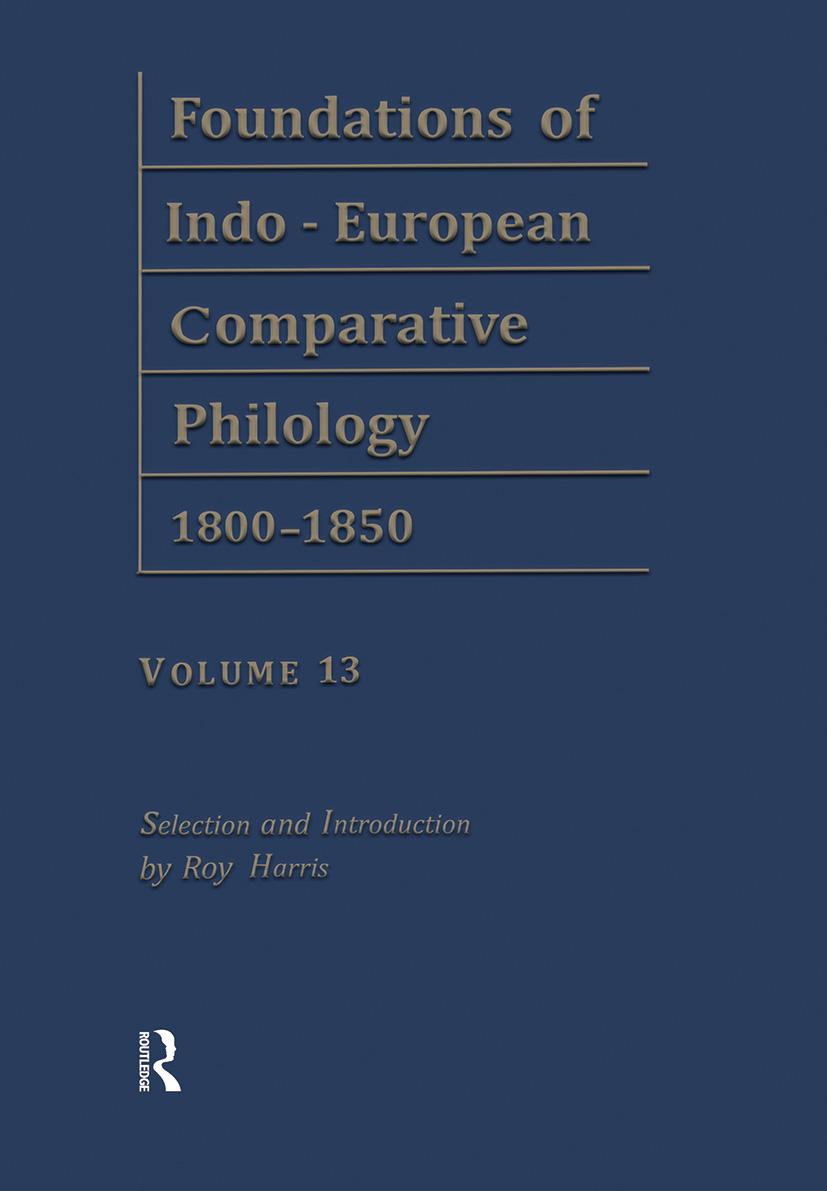 Etymol Forschungen V2 V13 (Hardback) book cover