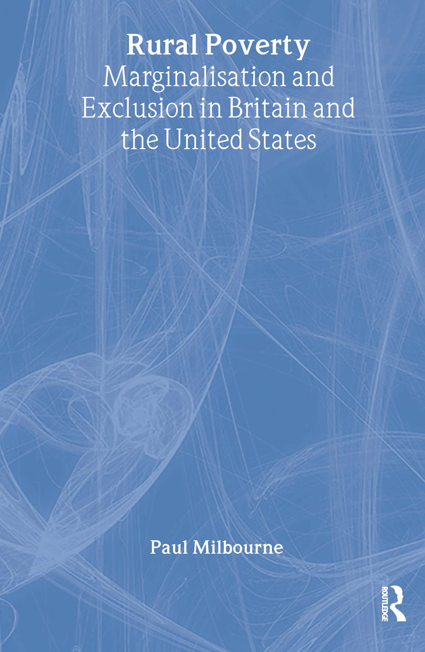 Rural Poverty: Marginalisation and Exclusion in Britain and the United States (Paperback) book cover