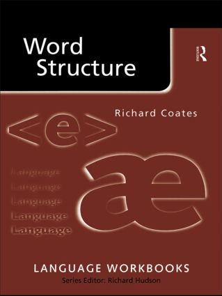 Word Structure (Paperback) book cover