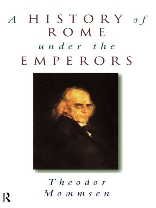 A History of Rome under the Emperors: 1st Edition (Paperback) book cover