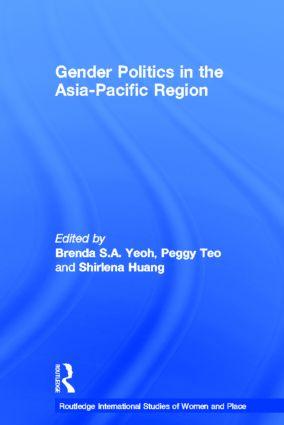 Gender Politics in the Asia-Pacific Region (Hardback) book cover