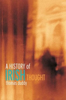 A History of Irish Thought: 1st Edition (Paperback) book cover