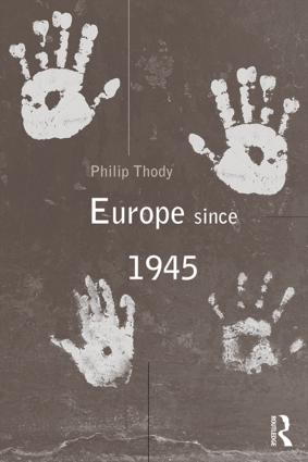 Europe Since 1945: 1st Edition (Paperback) book cover