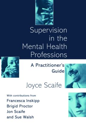 Supervision in the Mental Health Professions