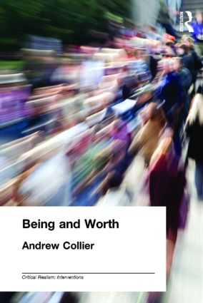 Being and Worth (Paperback) book cover