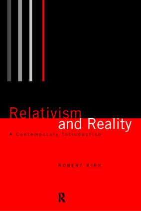 Relativism and Reality: A Contemporary Introduction book cover