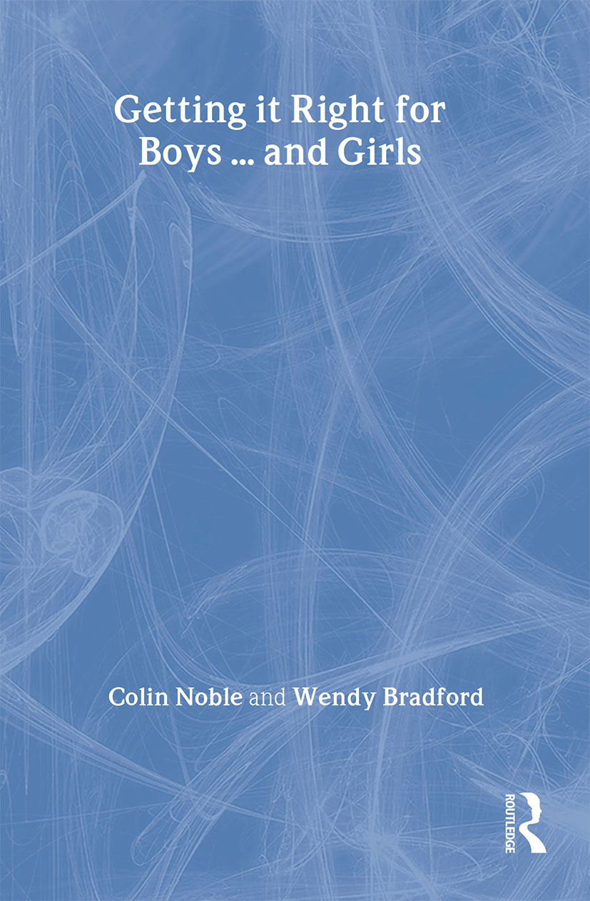Getting it Right for Boys ... and Girls: 1st Edition (Paperback) book cover