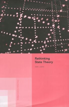 Rethinking State Theory (Hardback) book cover