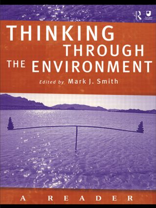 Thinking Through the Environment: A Reader (Paperback) book cover
