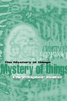 The Mystery of Things (Paperback) book cover