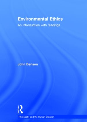 Environments and environmental ethics