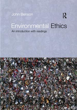 Environmental Ethics: An Introduction with Readings (Paperback) book cover