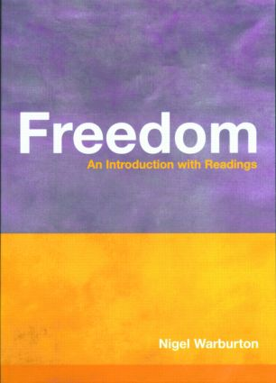 Freedom: An Introduction with Readings (Paperback) book cover