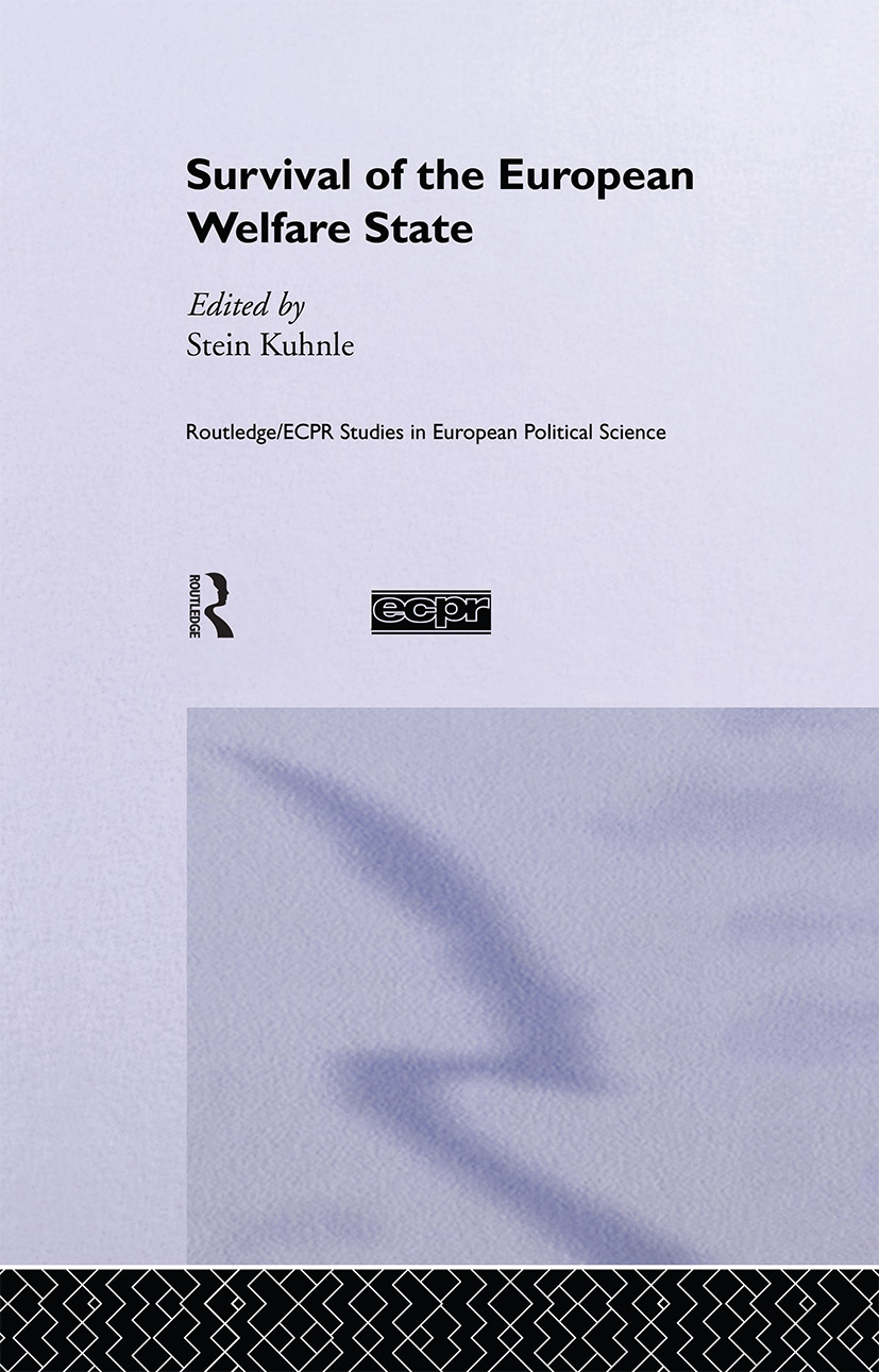 The Survival of the European Welfare State: 1st Edition (Hardback) book cover