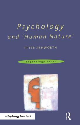 Psychology and 'Human Nature' (e-Book) book cover