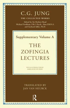 The Zofingia Lectures: Supplementary Volume A book cover